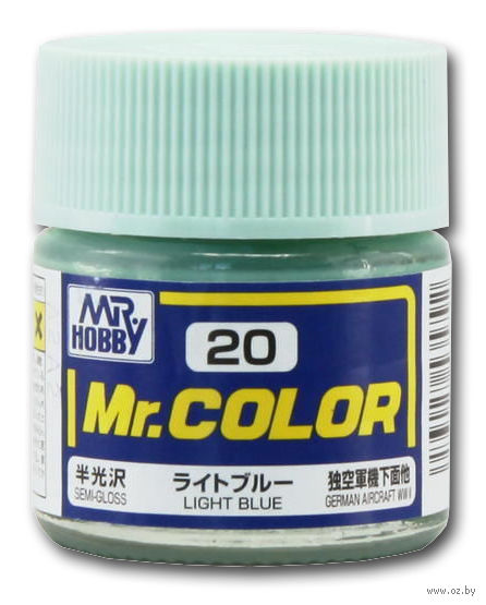 Краска Mr. Color (light blue, C20)