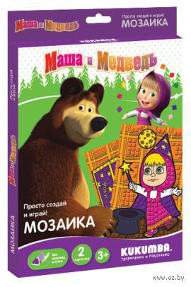 """Мозаика """"Маша и медведь"""" (арт. 0062013)"""