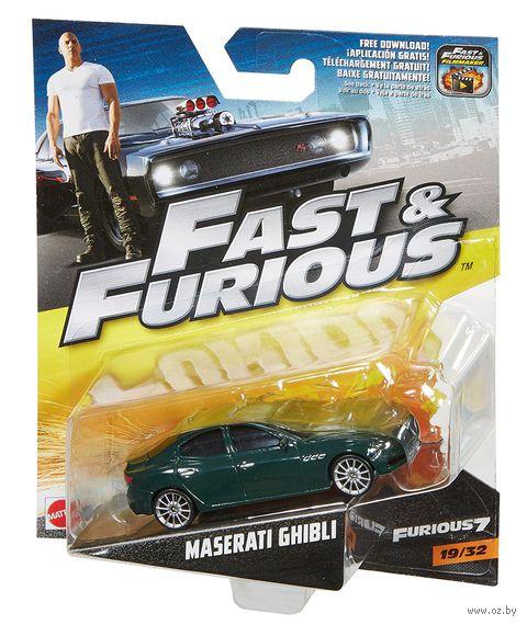 "Модель машины ""Fast&Furios. Maserati Ghibli"" (масштаб: 1/55) — фото, картинка"