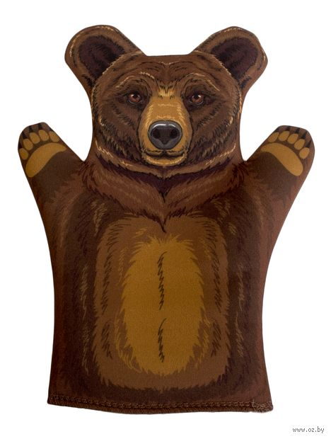 "Мягкая игрушка на руку ""Медведь"" (32 см) — фото, картинка"