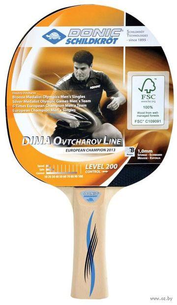 """Ракетка для настольного тенниса """"Schidkroet Ovtcharov 200 FSC"""" — фото, картинка"""