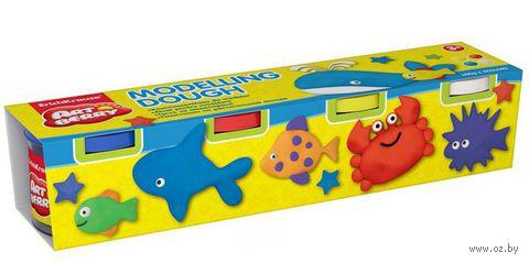 """Пластилин на растительной основе """"Modelling Dough №1"""" (4 цвета)"""