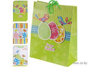 Пакет бумажный подарочный (в ассортименте; 23х18х8 см; арт. APF618430)