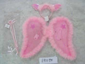 """Набор карнавальный """"Ангел"""" (крылья, обруч с крыльями, жезл) — фото, картинка"""