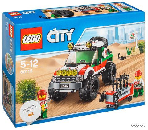"""LEGO City """"Внедорожник 4x4"""""""