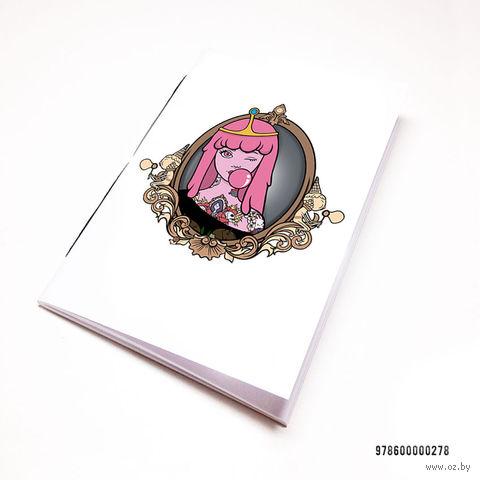 """Блокнот """"Время Приключений. Принцесса Бубльгум"""" (А7; арт. 278) — фото, картинка"""
