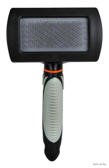 Щетка-пуходерка для ухода за шерстью (10х17 см; арт. 24132) — фото, картинка