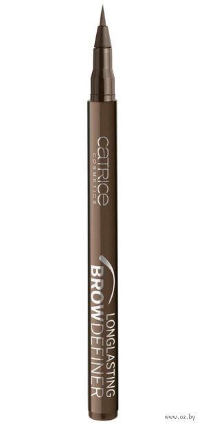 """Маркер для бровей """"Longlasting Brow Definer"""" (тон: 030, chocolate brownie) — фото, картинка"""