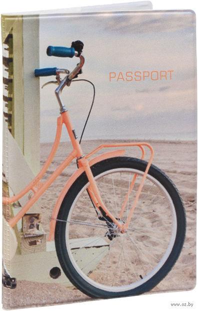 """Обложка на паспорт """"Summer bike"""" — фото, картинка"""