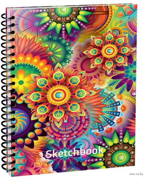 """Скетчбук """"Цветные миры"""" (A5) — фото, картинка"""