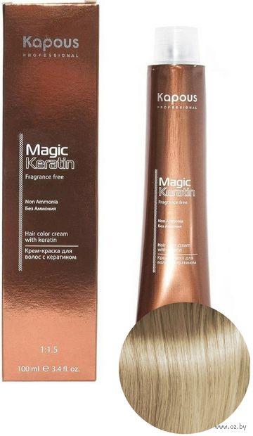 """Крем-краска для волос """"Non Ammonia"""" тон: 9.0, очень светлый блондин — фото, картинка"""