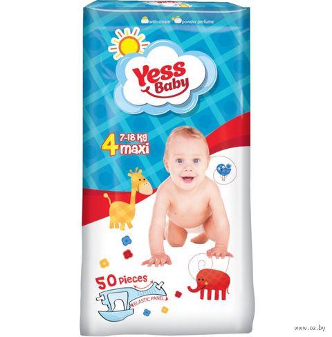 """Подгузники """"Yess Baby Maxi"""" (8-19 кг; 50 шт.) — фото, картинка"""
