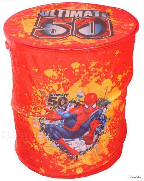 """Корзина для игрушек """"Человек-паук"""""""