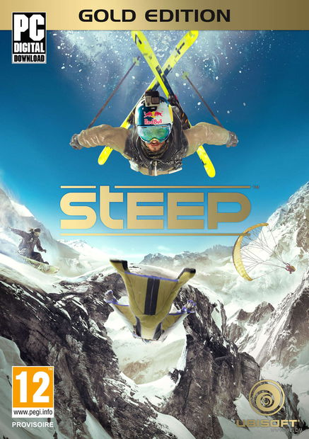 Цифровой ключ Steep. Gold Edition