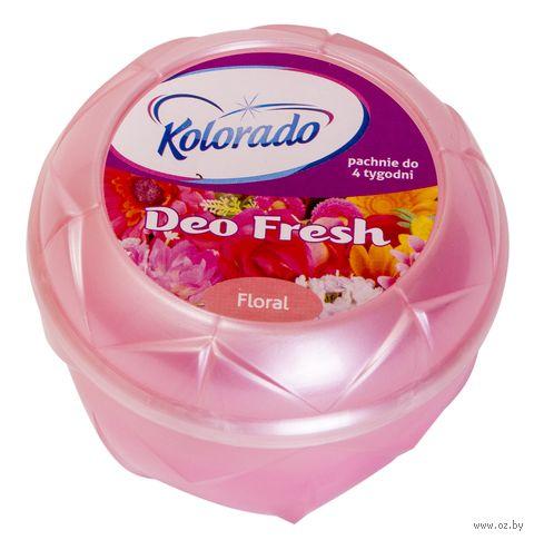 """Освежитель воздуха гелевый """"Kolorado Deo Fresh. Цветочный"""" (150 г) — фото, картинка"""