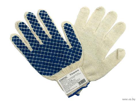 Перчатки для садовых работ текстильные (М; 1 пара) — фото, картинка