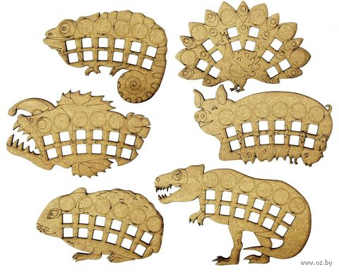 """Планшеты животных для игры """"Эволюция. Естественный отбор"""" — фото, картинка"""