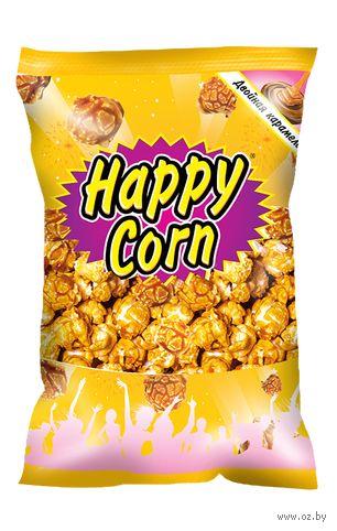 """Попкорн """"Happy Corn. Двойная Карамель"""" (80 г) — фото, картинка"""