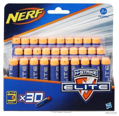 """Комплект стрел для бластера """"Nerf"""" (30 шт.)"""