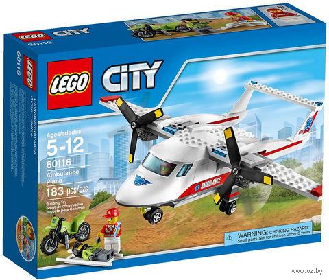 """LEGO City """"Самолет скорой помощи"""""""
