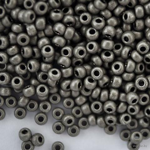 Бисер №18549 (черный металлик)