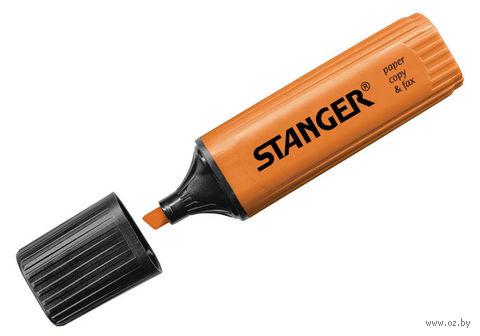 Маркер текстовыделитель (оранжевый; 5 мм)