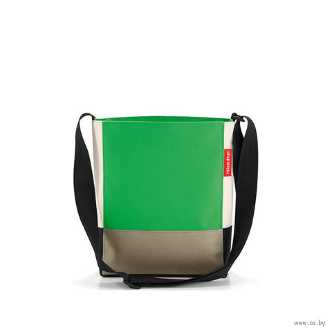 "Сумка ""Shoulderbag"" (S, patchwork green)"