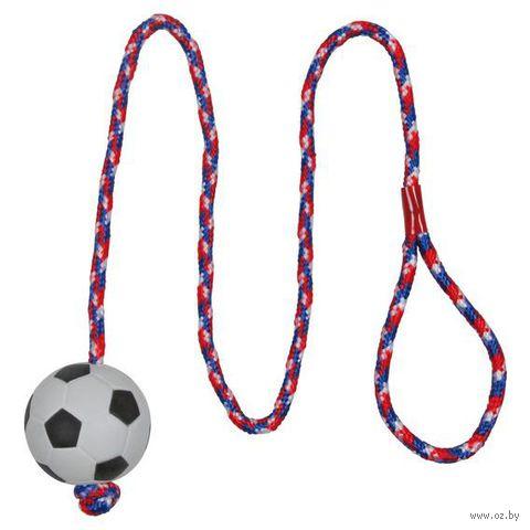 """Игрушка для собак """"Мячик на веревке"""" (1 м; арт. 3307) — фото, картинка"""