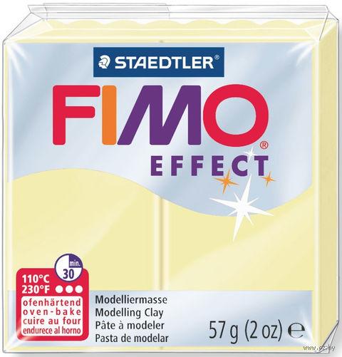 """Глина полимерная """"FIMO Effect"""" (ваниль; 57 г) — фото, картинка"""