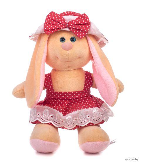 """Мягкая игрушка """"Заяц Катя. В шляпке"""" (28 см) — фото, картинка"""