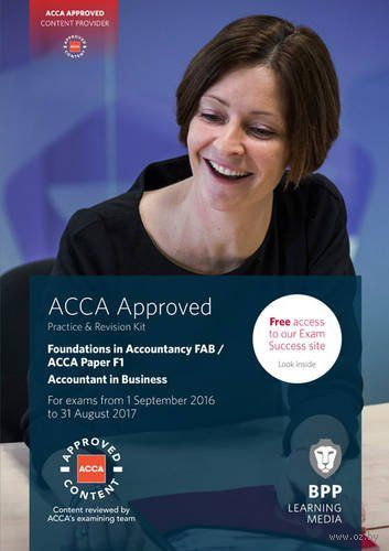 FIA Foundations of Accountant in Business FAB (ACCA F1). Practice and Revision Kit — фото, картинка