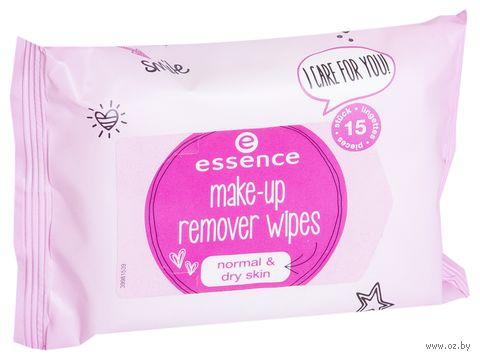 """Влажные салфетки для снятия макияжа """"Makeup Remover"""" (15 шт.) — фото, картинка"""