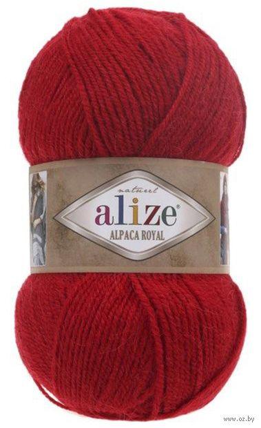 """Пряжа """"ALIZE. Alpaca Royal №56"""" (100 г; 250 м; красный) — фото, картинка"""