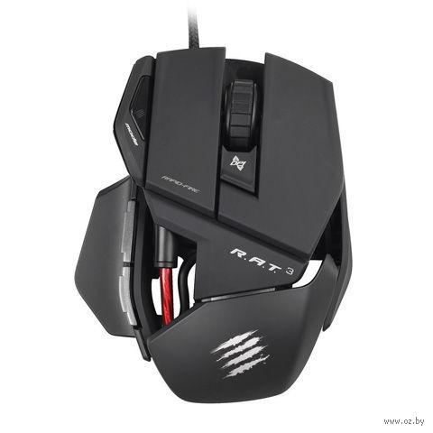 Игровая лазерная мышь Mad Catz R.A.T.3 (Black)