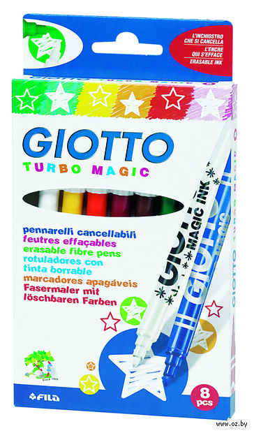 "Фломастеры ""TURBO MAGIC"" (8 цветов)"