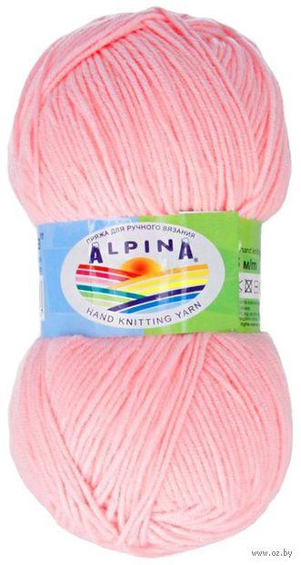 """Пряжа """"ALPINA. Vera №10"""" (100 г; 280 м; светло-розовый) — фото, картинка"""