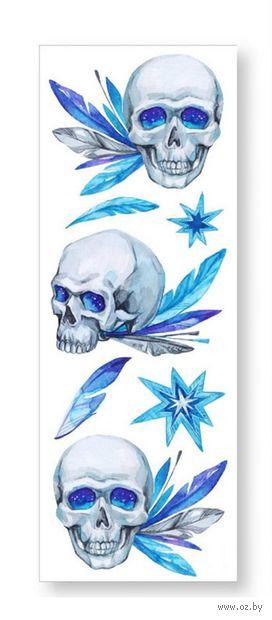 """Набор татуировок для тела """"Skulls"""" — фото, картинка"""