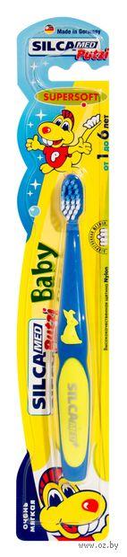 Детская зубная щетка Silca Putzi Baby (цвет: ассорти)
