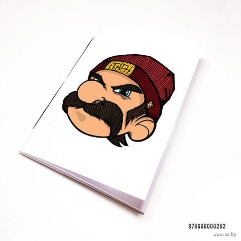 """Блокнот белый """"Марио"""" А7 (282)"""