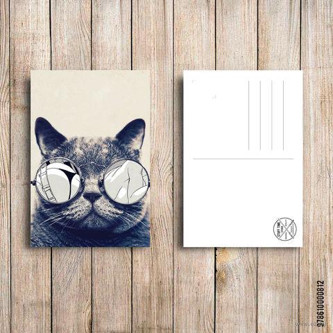 "Открытка ""Кот"" (арт. 812) — фото, картинка"