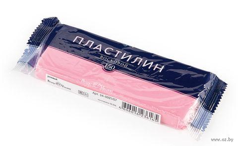Пластилин восковой (150 г; розовый) — фото, картинка