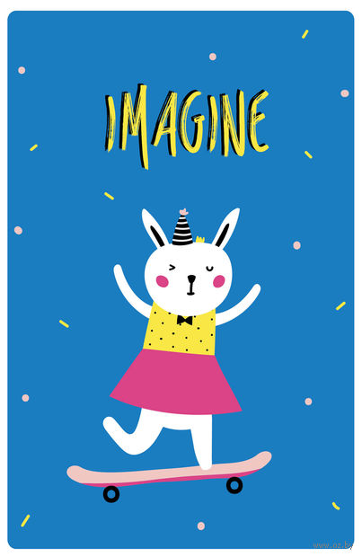 "Блокнот ""Imagine"" (А5) — фото, картинка"