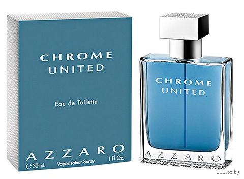 "Туалетная вода для мужчин Azzaro ""Chrome United"" (30 мл) — фото, картинка"