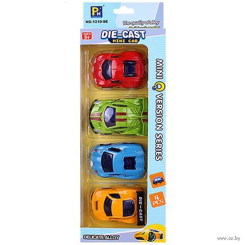 "Набор машинок ""Mini Car"" (арт. DV-T-712) — фото, картинка"