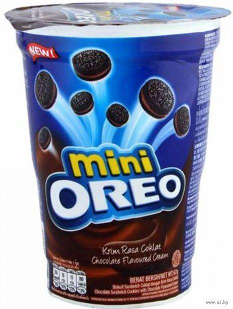 """Печенье """"Oreo. Mini. С шоколадным кремом"""" (67 г) — фото, картинка"""