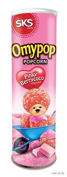 """Попкорн """"Omypop. Ягодный шоколад"""" (85 г) — фото, картинка"""