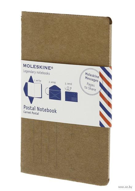 """Почтовый набор """"Postal Notebook"""" (115х175 мм; коричневый) — фото, картинка"""