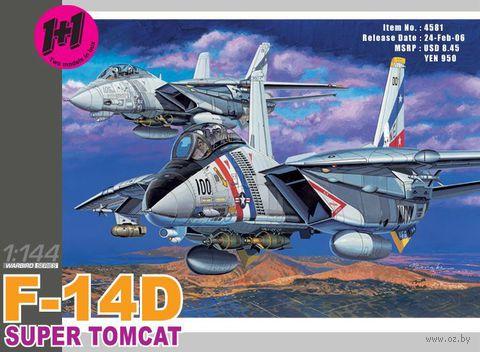 """Набор самолетов """"F-14D Super Tomcat VF-2 Bounty Hunters"""" (масштаб: 1/144) — фото, картинка"""