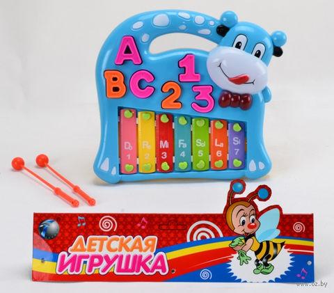"""Развивающая игрушка """"Ксилофон. Буквы и цифры"""""""