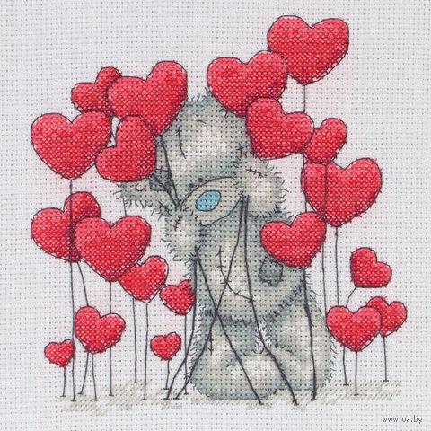 "Вышивка крестом ""Сердечки"""